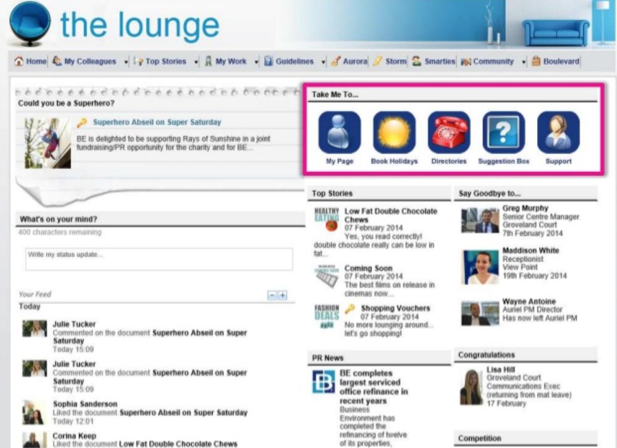intranet design oddball intranet