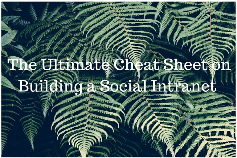 Ultimate Intranet Software Cheat Sheet